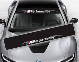 Discount Up To 50 Reflective M Performance Power Front Rear Windshield Window Decal Stickers For Bmw F10 F20 F30 M3 M5 E46 E60 E3 Window Decals Bmw Windshield