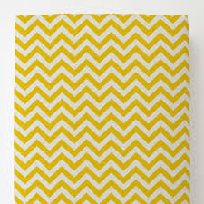 yellow zig zag toddler bed sheet fitted