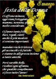 Festa delle Donne auguri da mandare - BuongiornissimoCaffe.it