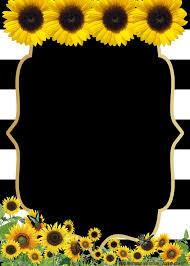 Free Printable Sunflower Birthday Invitation Templates Festas De