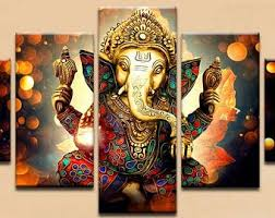 Hindu Wall Art Etsy