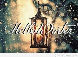 hello winter and hello quote