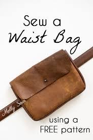 diy waist bag belt bag tutorial