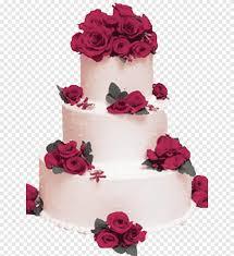 كعكة الزفاف كريم تورت روز كعكة ترتيب الزهور الزفاف Png Pngegg