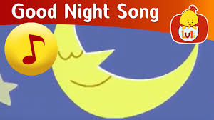 good night song cartoon for children