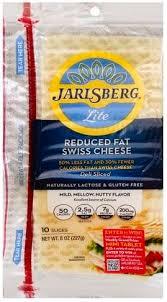 jarlsberg reduced fat swiss deli