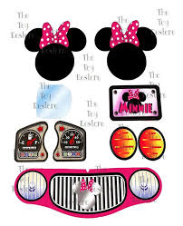Minnie Mouse Inspired Replacement Decals Stickers Fits Little Tikes Cozy Coupe Little Tikes Makeover Minnie Mouse Toys Minnie Toys