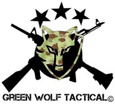 Pvc Patches United States Green Wolf Tactical