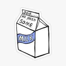 Milk Can Stickers Redbubble
