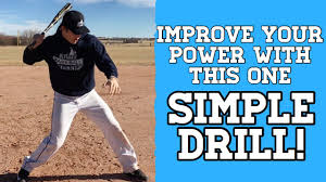 how to hit for power in baseball