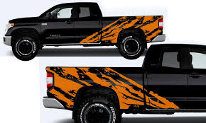Toyota Tundra 2014 2016 Custom Full Body Decal Kit Shred Factory Crafts