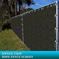 Ifenceview 3 X100 Black Fence Privacy Screen Mesh For Construction Yard Garden Ebay