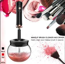 electric makeup brushes cleaner