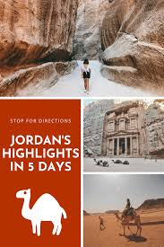 See Jordan's Highlights in 5 days in 2020 | Travel, Travel inspiration,  Historical sites