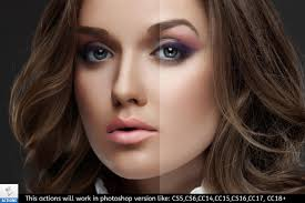 photo retouch painting photo action