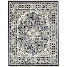 jackson navy blue area rug