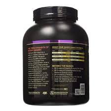 on optimum nutrition pro gainer 5 09