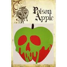 Snow White Poison Apple Car Decal Poison Apple Car Decal Etsy