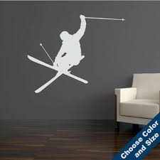 Heli Iron Cross Skier Wall Decal Large Sizes Choose Size And Color Wall Crosses Olivia Decor Decor For Your Home And Office