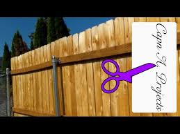 Build A Fence That Will Last Wooden Fence With Metal Posts Youtube