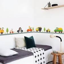 Animal Car Wall Stickers For Kids Room Children