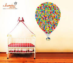 Up Inspired Floating House With Balloons Wall Decals Stickers On Etsy 150 00 Nursery Wall Stickers Floating House Balloon Wall