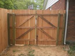 building quality wood gates the fence