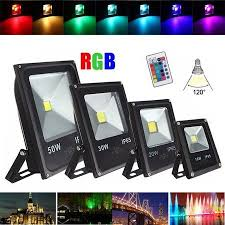 electronics led flood lights outdoor