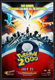 Pokemon: The Movie 2000 (1999) Original One-Sheet Movie Poster ...