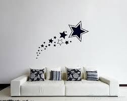 A Set Of Stars Vinyl Decals Modern Wall Art Sticker