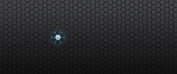 blue hexagon abstract design wallpaper