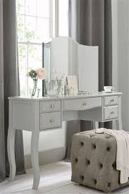 marielle grey dressing table from