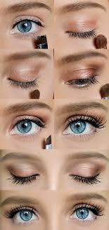 how to do pretty but natural eye makeup