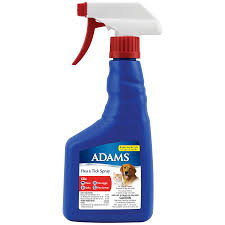 adams flea and tick control spray for