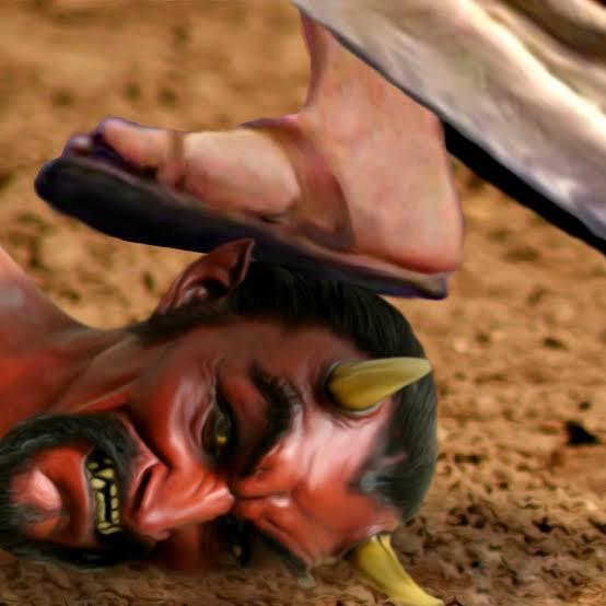 """Image result for jesus crushing satan"""""""