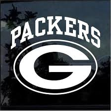 Green Bay Packers Window Decal Sticker Custom Sticker Shop
