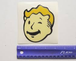 Fallout Vault Boy Head Game Vinyl Decal Gem City Books