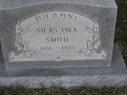 Silas Ora Smith (1881-1944) - Find A Grave Memorial