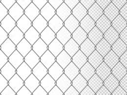 Realistic Chain Link Seamless Pattern Chain Link Fencing Texture Isolated On Transparency Background Metal Wire Mesh Fence Design Element Vector Illustration Premium Vector In Adobe Illustrator Ai Ai Format Encapsulated