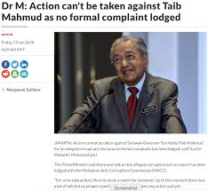 Malaysians Must Know the TRUTH: 'MAHATHIR WILL MAKE SURE TAIB ...