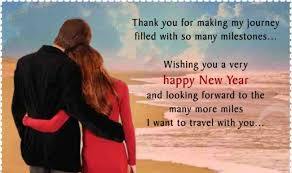 happy new year for him quotes about new year happy new