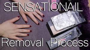 sensationail starter kit removal