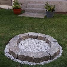 diy backyard fire pit build it in just
