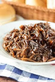 slow cooker honey balsamic pulled pork