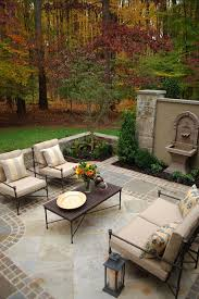firepit patio flooring design elegant