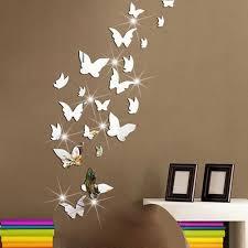 Mirror Butterfly Wall Decor Butterfly Wall Decor Butterfly Wall Decals Wall Stickers Bedroom