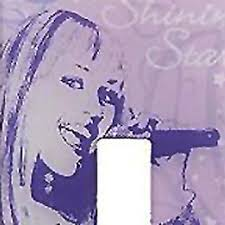 Disney Hannah Montana Light Switch Plate Sticker Decal Contemporary Wall Decals By Store51 Llc
