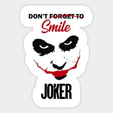 joker quotes joker naklejka pl