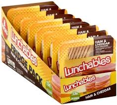 lunchables ham cheddar with ers