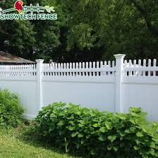 China Used Cheap White 6 H 8 W Vinyl Privacy Chain Link Plastic Fence Panels China Pvc Privacy Fence Pvc Fence Factory